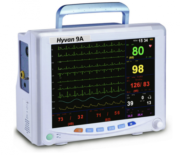 HYVAN 9A MULTIFUNCTION MONITOR WITH GAS BENCH